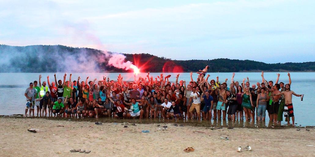 Tramprennen 2012-Lacul Surduc